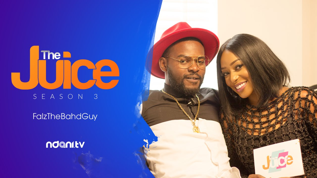 VIDEO: FALZ on 'The Juice' with Dorcas Fapson