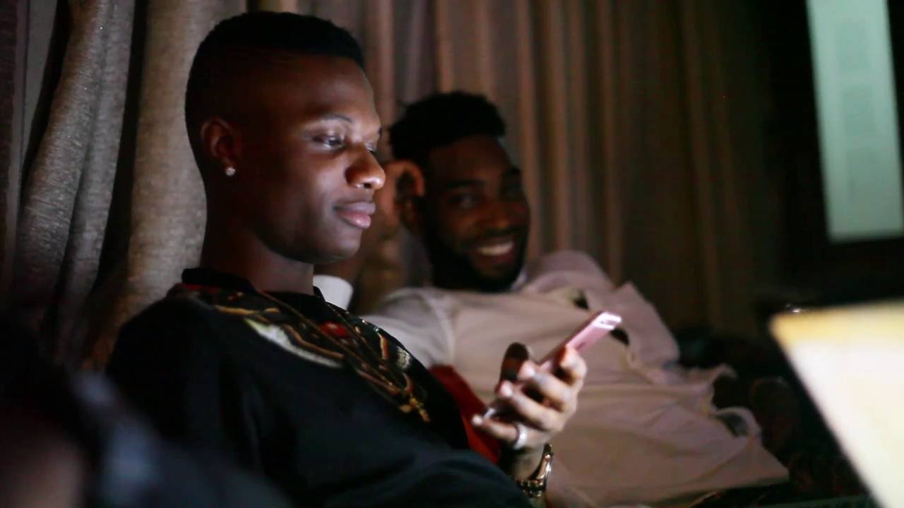 VIDEO: Tinie Tempah With Wizkid Disturbing The City Of Lagos, Nigeria